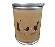 다용도보관통 Do you like coffee 인쇄형(((중소/강판뚜껑)))Φ350 x 400h